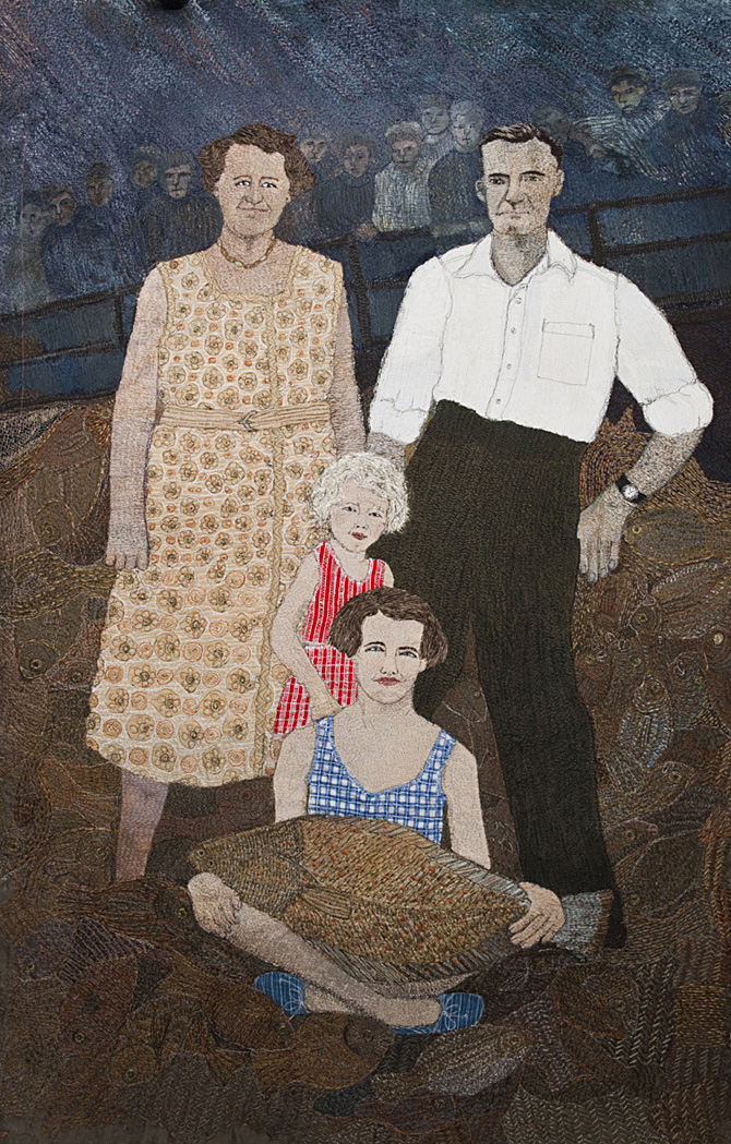Family with Fish – 2011
