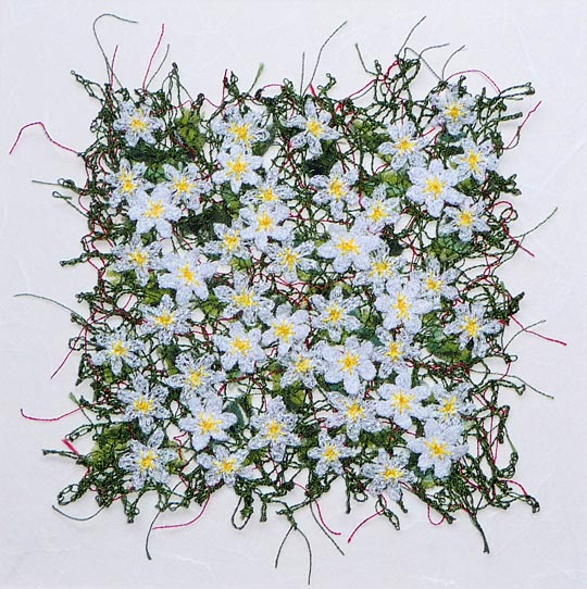 Textile art by Anne Honeyman