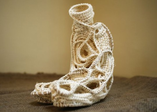 Rope sculpture by Judy Tadman