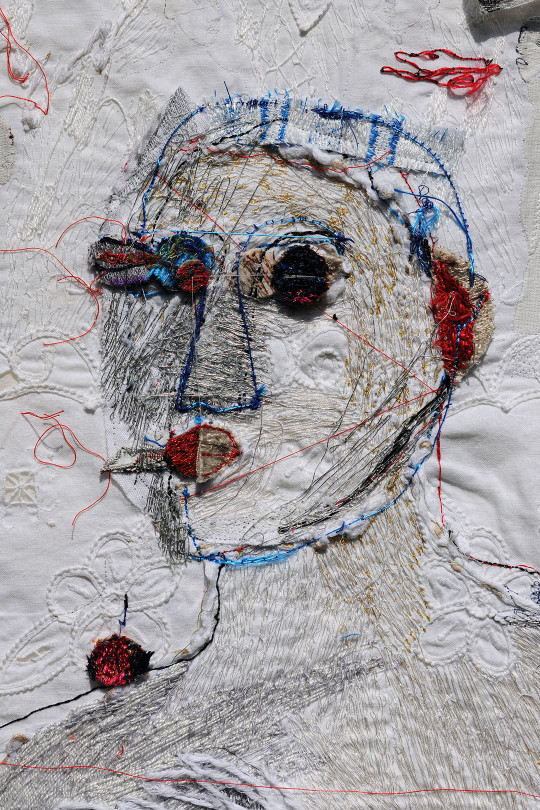 Textile art by Alice Kettle