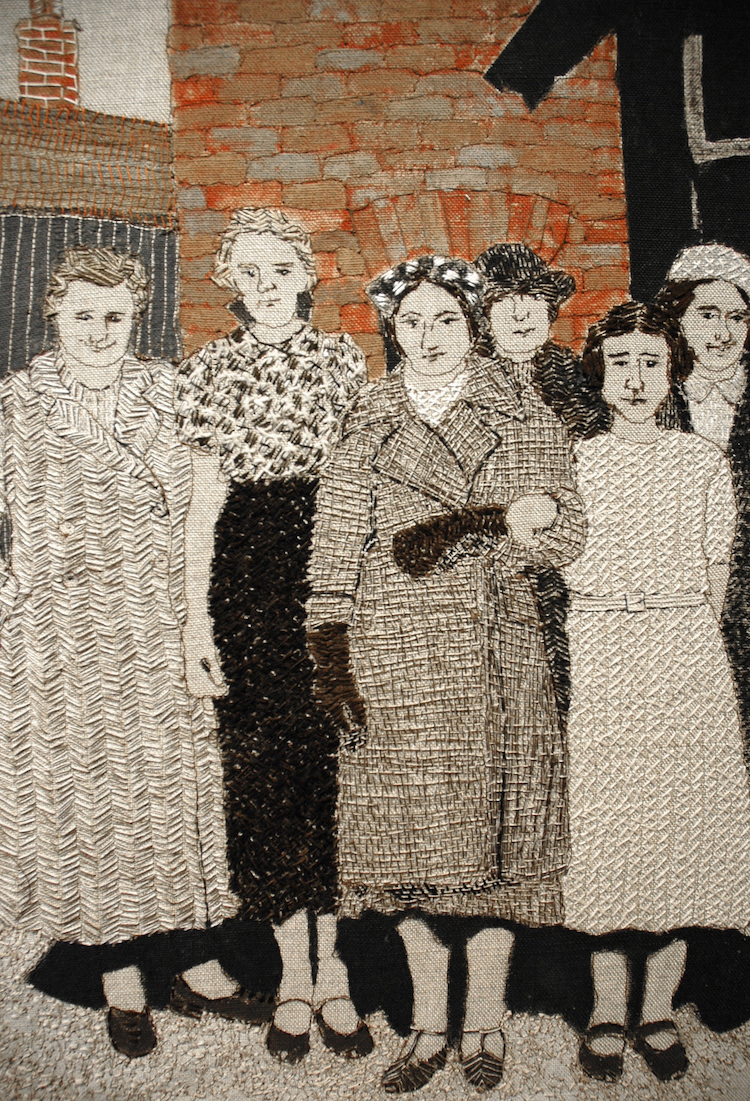 Sue Stone, Muriel's day out (detail 1)