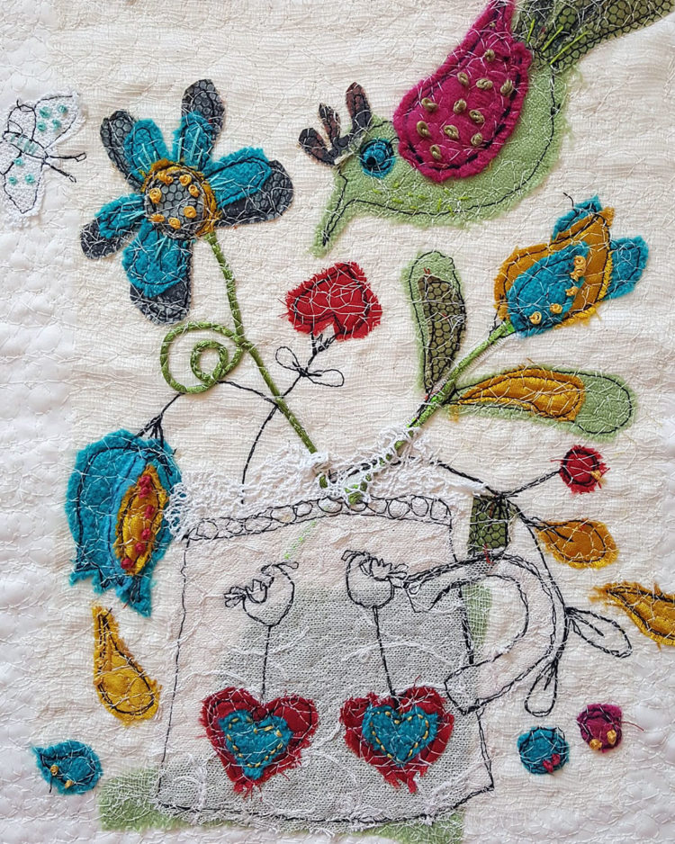 Agnes Keilloh's response to Anne Kelly's stitch challenge (week 6)